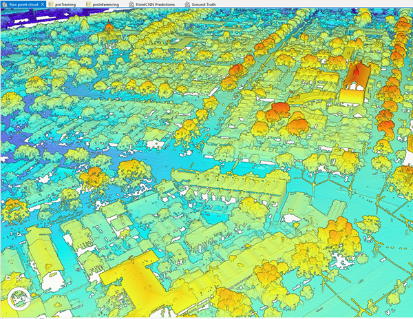 Raw point cloud