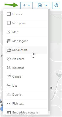 Element drop-down list