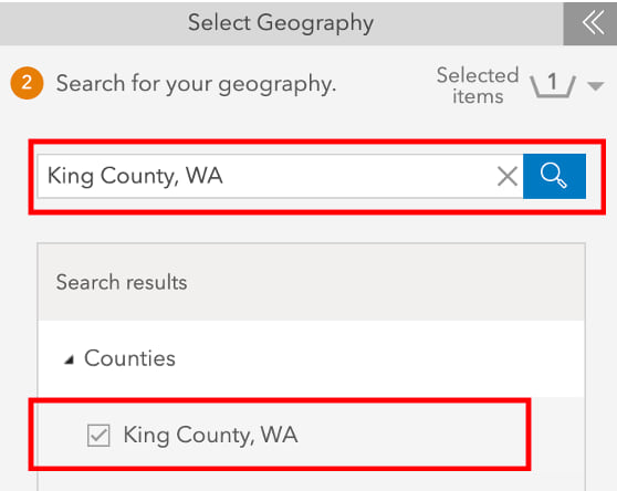 select county