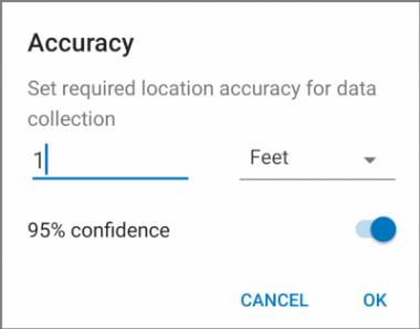 use 95% confidence