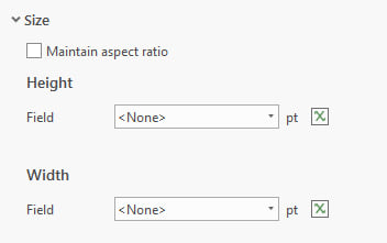 "uncheck ""Maintain aspect ratio"" to set Height and Width separately"