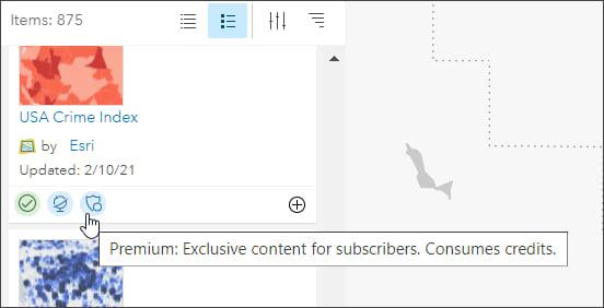Premium subscriber content
