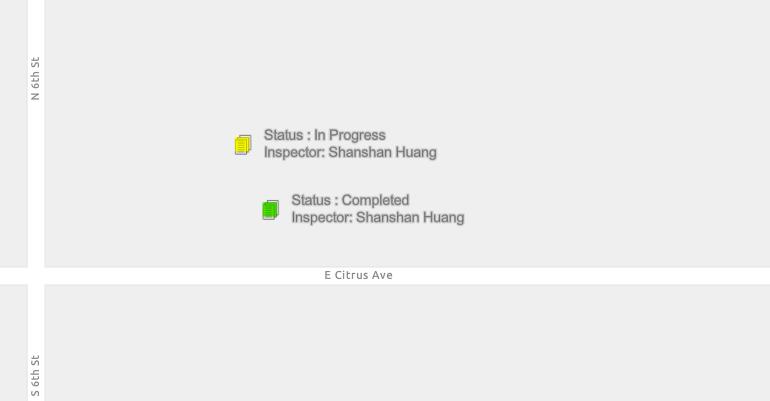 Screenshot of multi-line labels