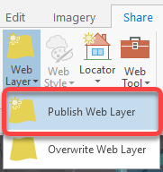 Share as web layer