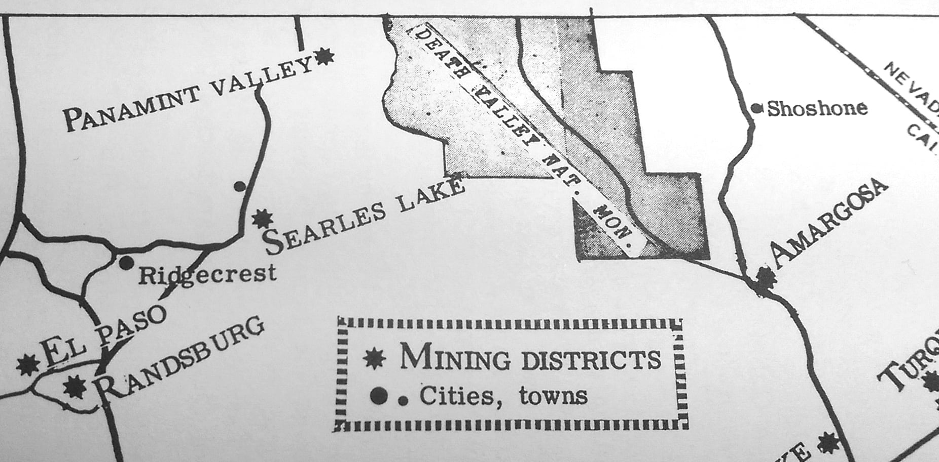 "map from the ""Mines of the Mojave"" book"