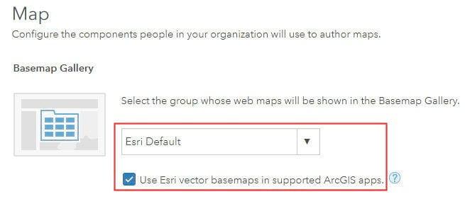 Vector gallery basemaps