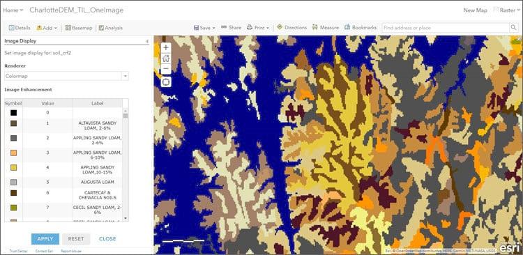 Colormap renderer
