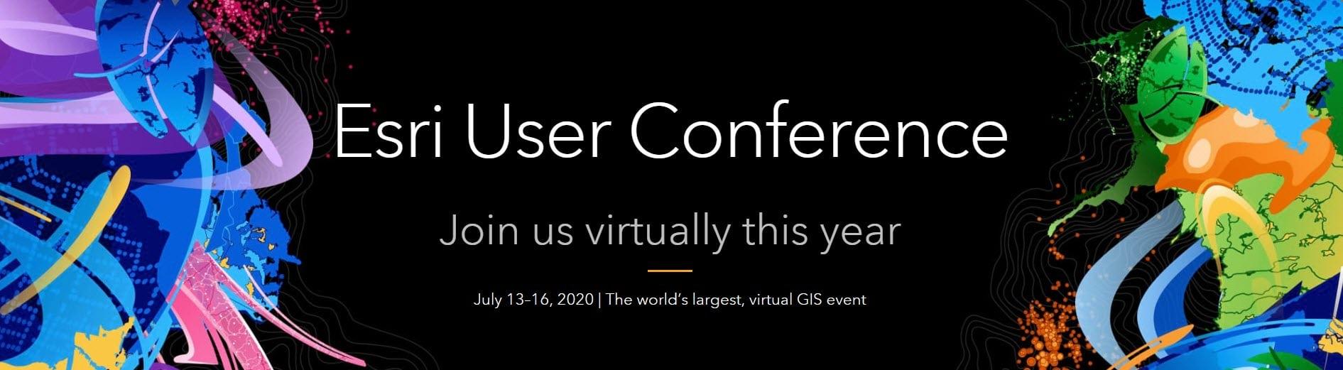 2020 Esri Virtual Users Conference