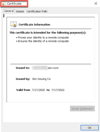 View Certificate 1
