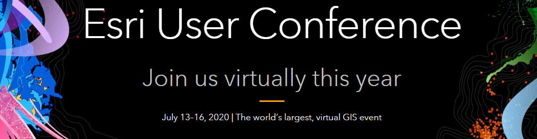 Esri User Conference 2020