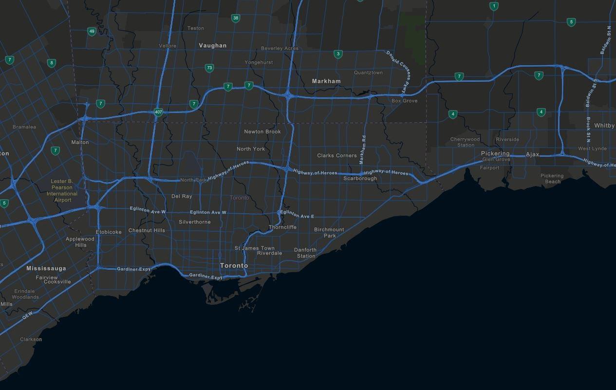Toronto rotated
