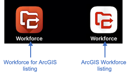 Workforce listings on your device