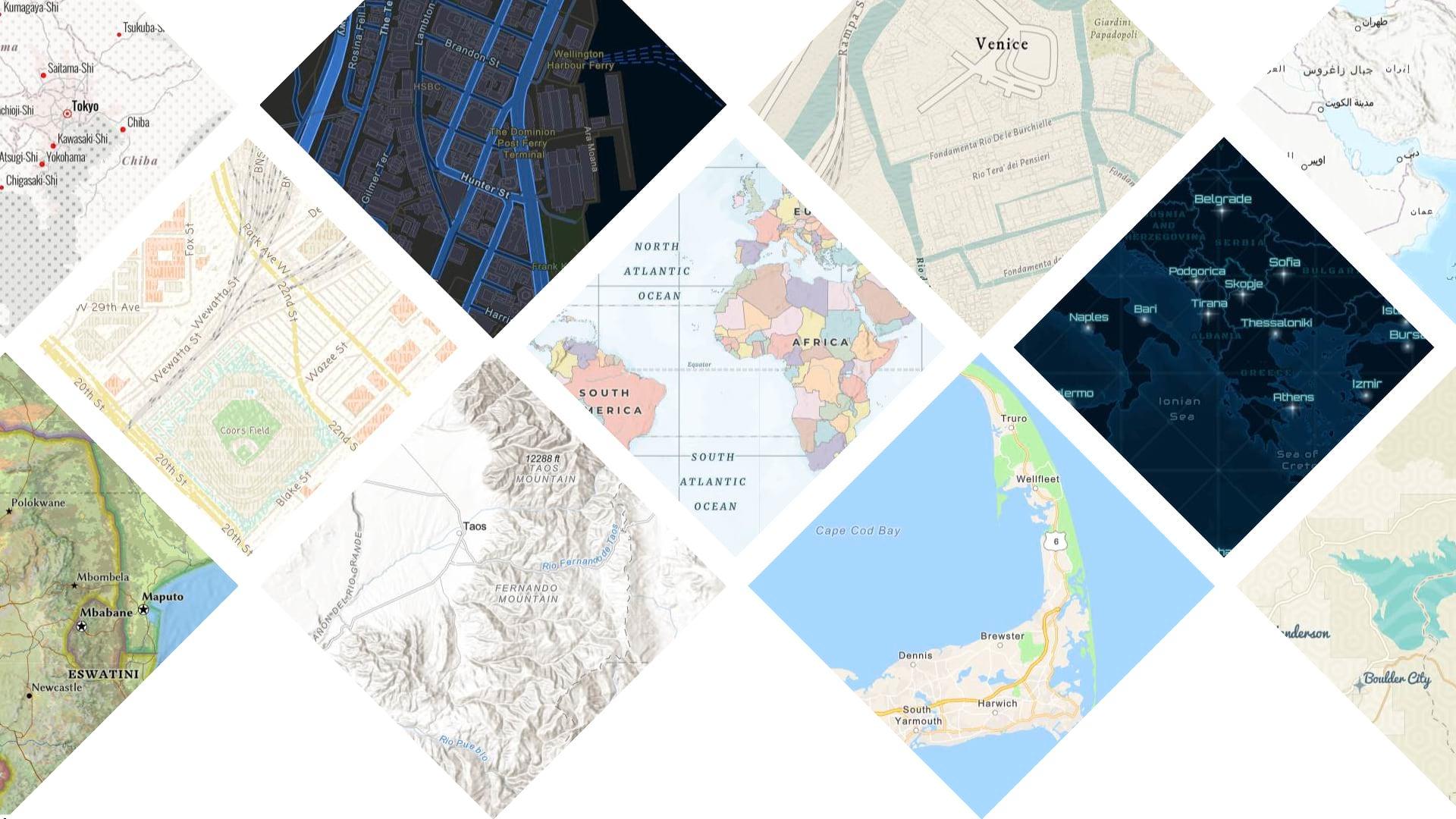 Whats new in Esri Vector Basemaps