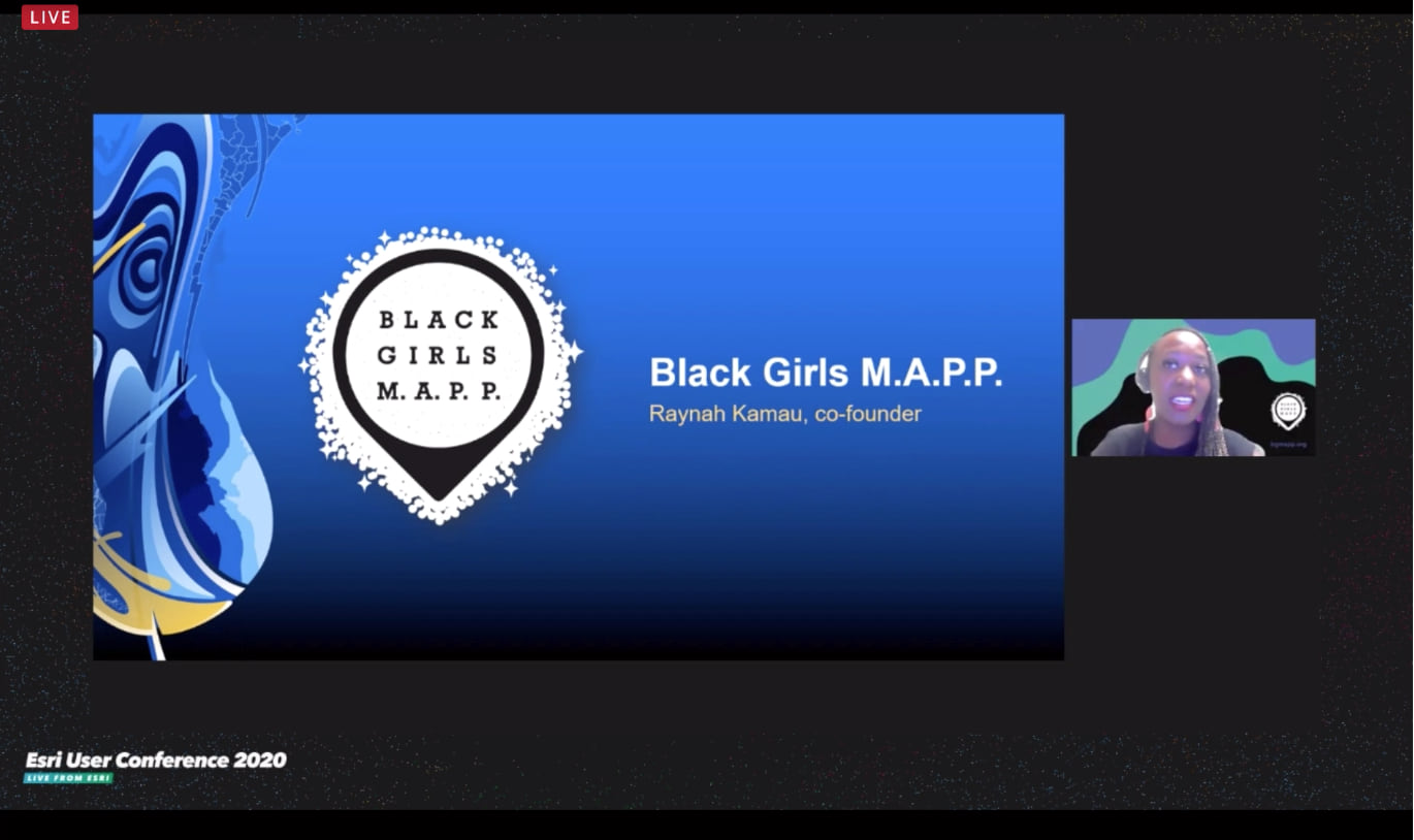 Black Girls MAPP presentation related to racial justice