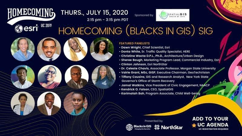 Blacks in GIS SIG Flier