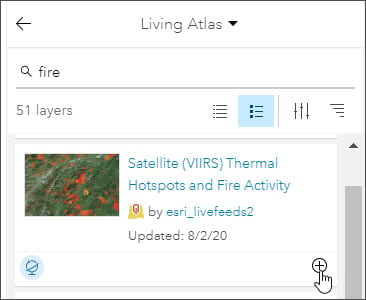 Add VIIRS layer
