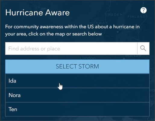 Select storm