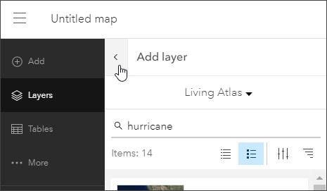 Add layer pane