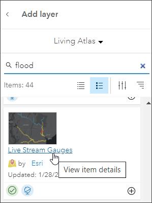 View item details