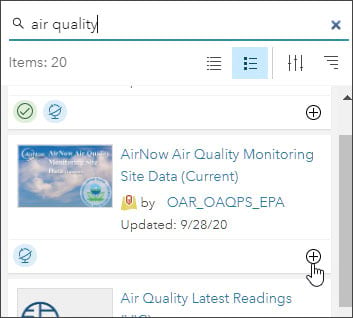 AirNow Air Quality Monitoring Sites