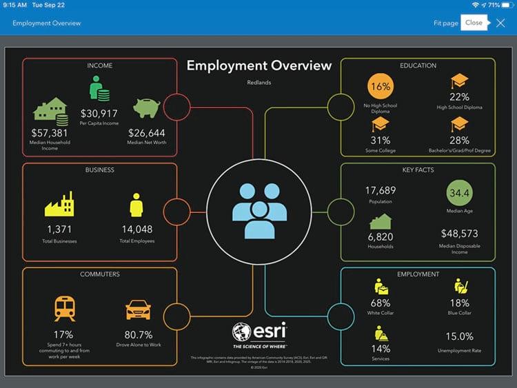 Aplicación móvil Business Analyst