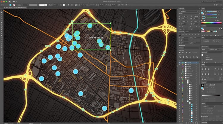 ArcGIS Maps para Adobe Creative Cloud