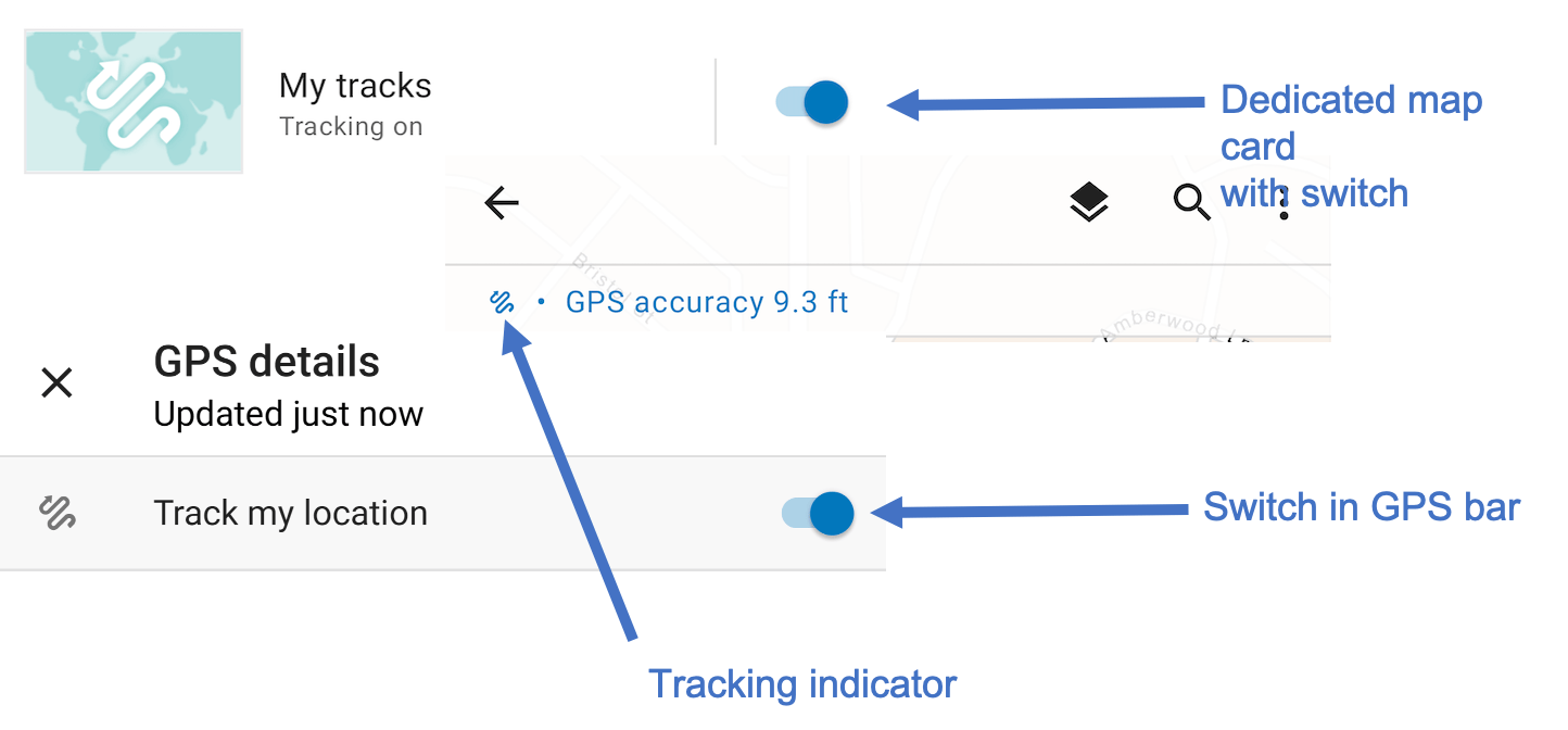 Location tracking is included in ArcGIS Field Maps
