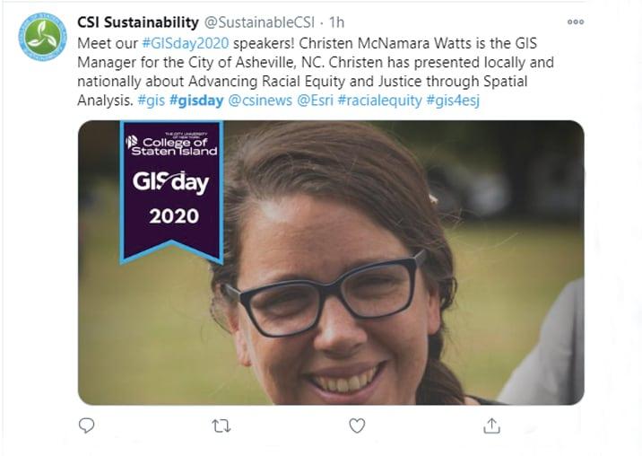 CSI Sustainability GIS Day Celebration