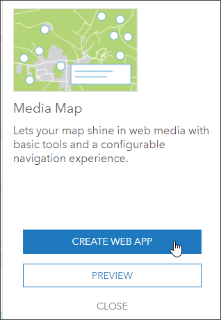 Create Media Map app