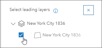 Select leading layers