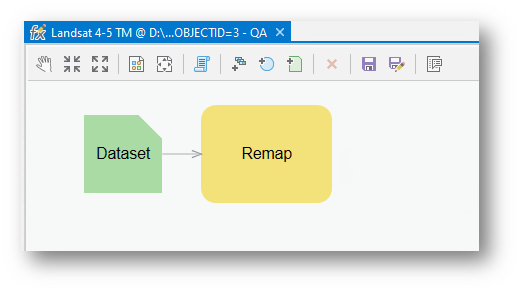 Remap in the function editor