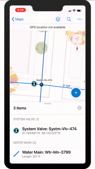 Water Distribution Mobile Viewer