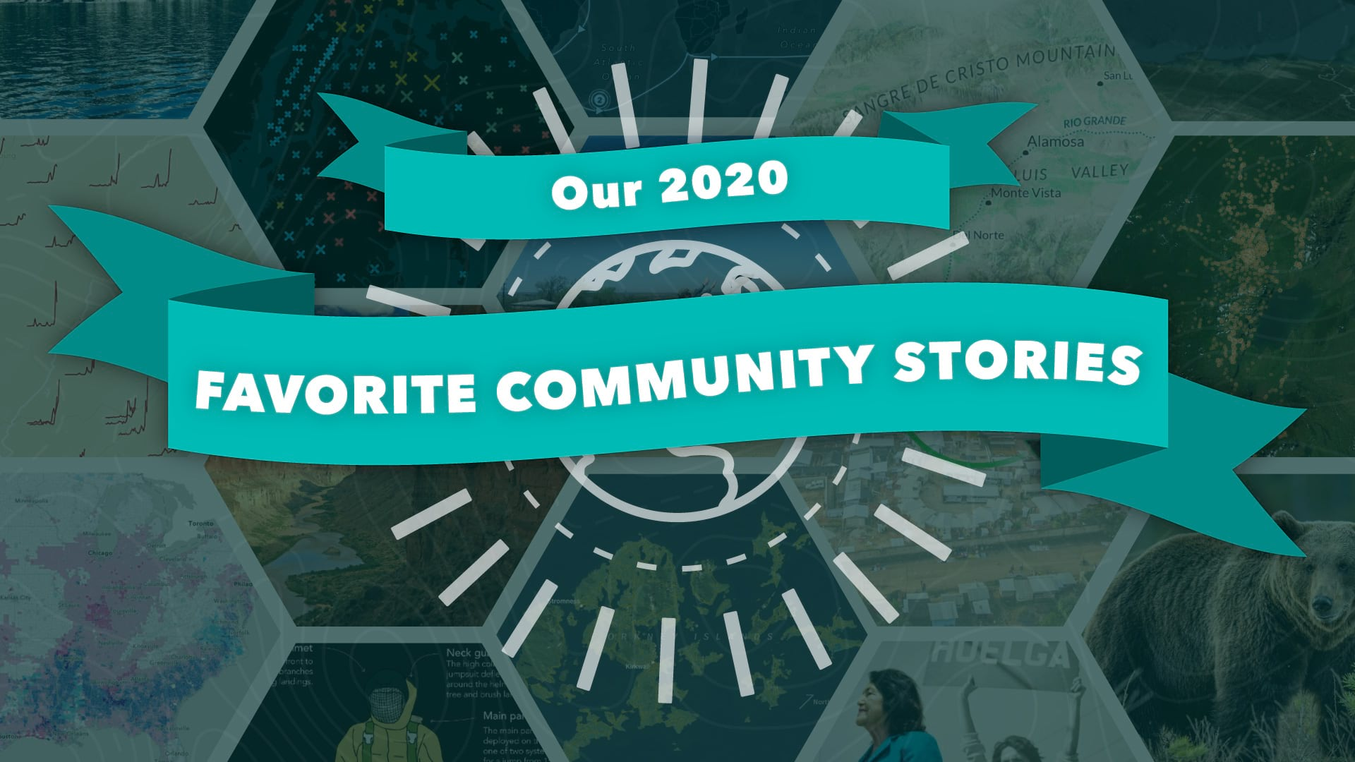 A clickable graphic that links to a collection of outstanding community-made stories.