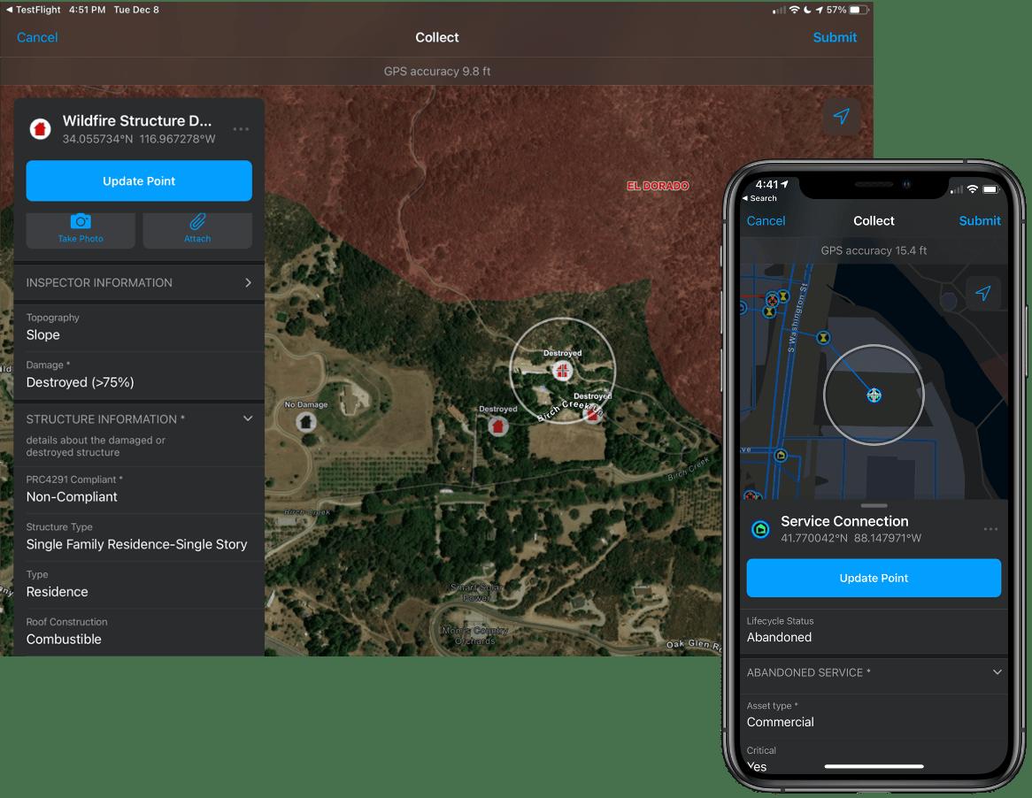 ArcGIS Field Maps support Dark Mode on iOS