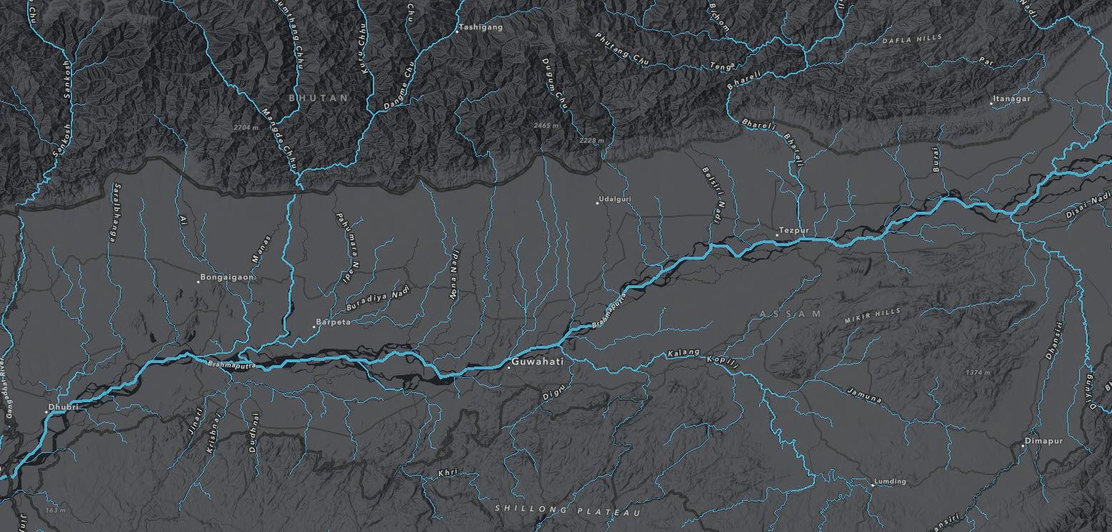 Detail of basemap.