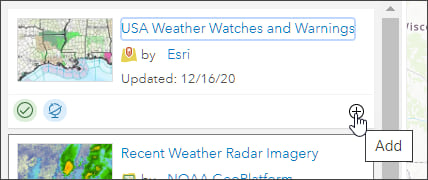 Add USA Weather Watches and Warnings