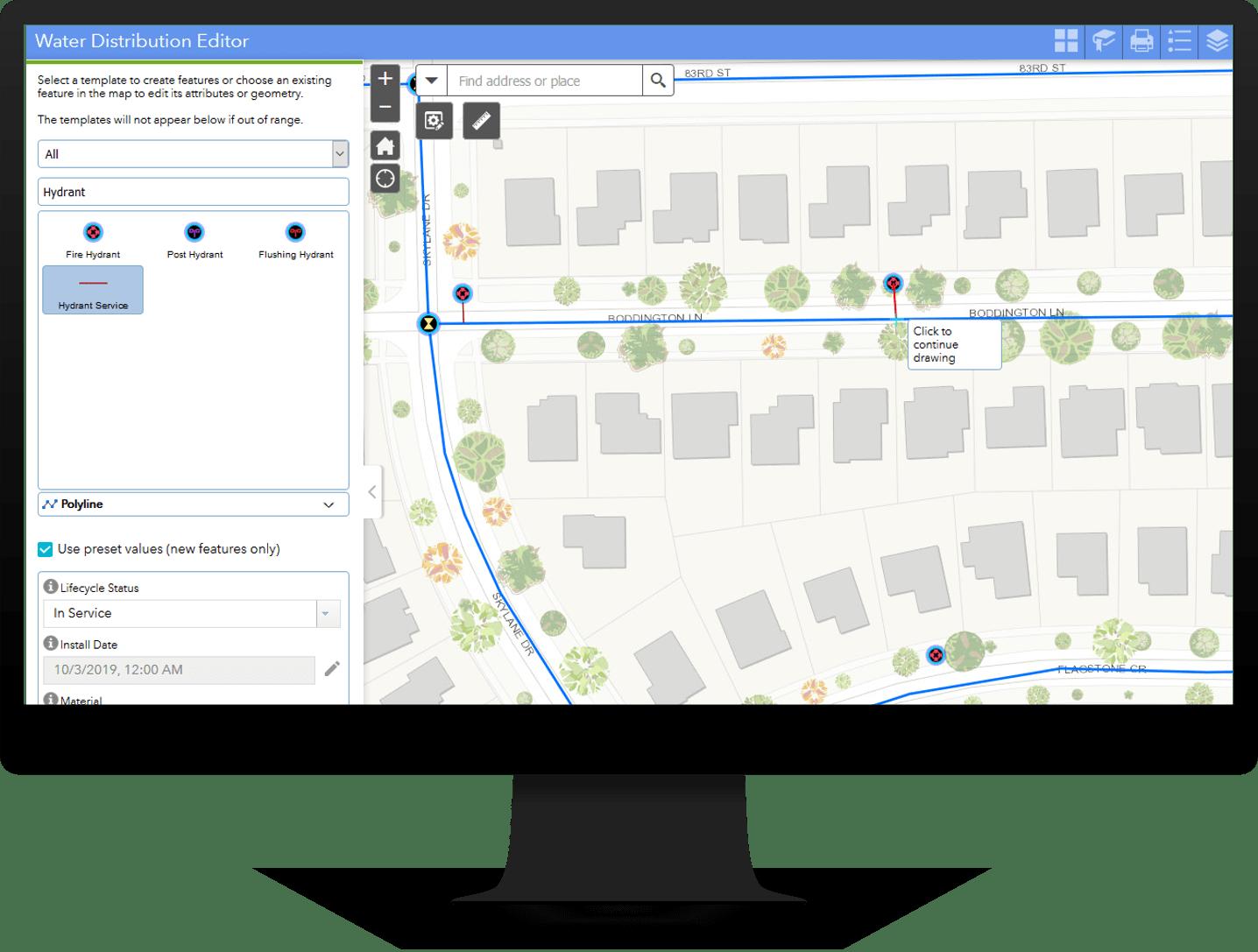 Water Distribution Editor Web App