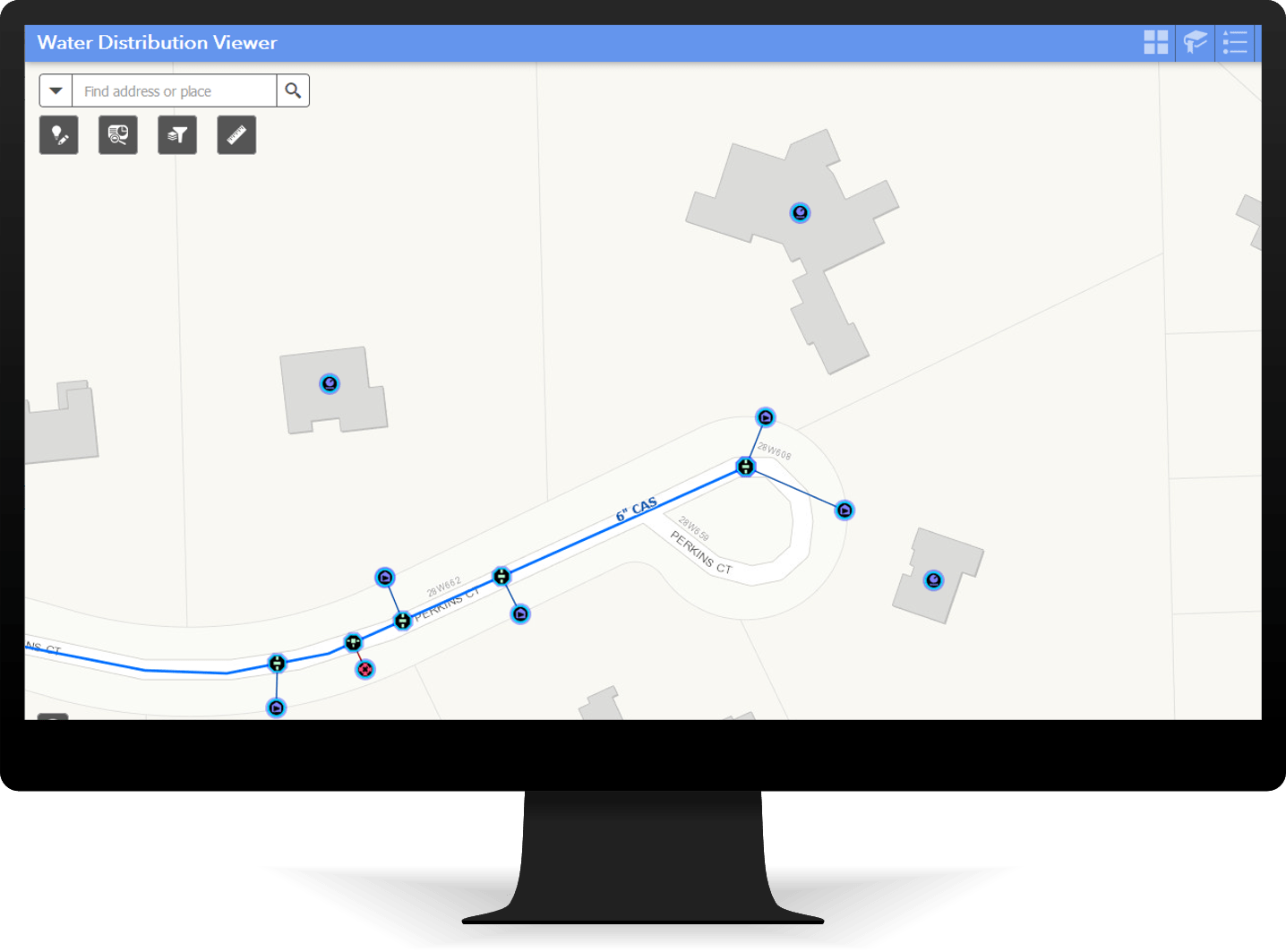 Water Distribution Viewer