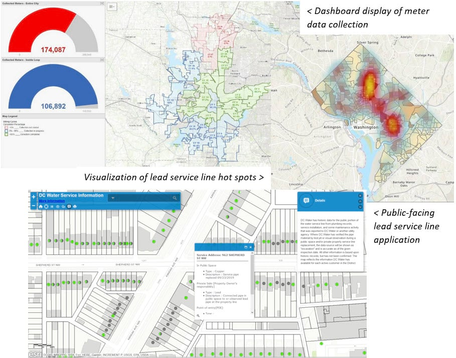Examples of Lead Service Line management with ArcGIS