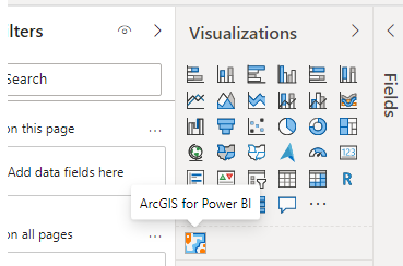 ArcGIS for Power BI Visual
