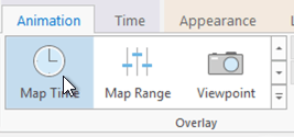 Map Time Overlay