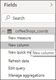 Create a new column