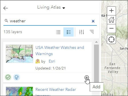 Add weather watches and warnings
