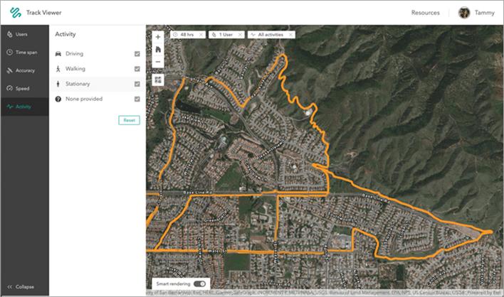 Track Viewer web app