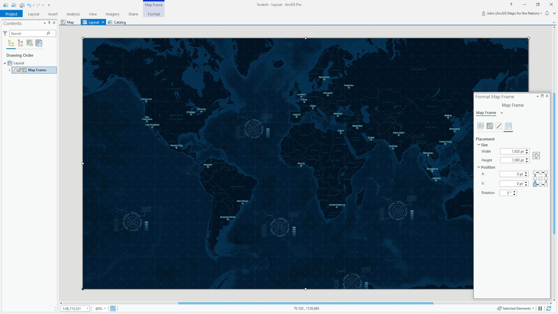 Create and ArcGIS Pro layout