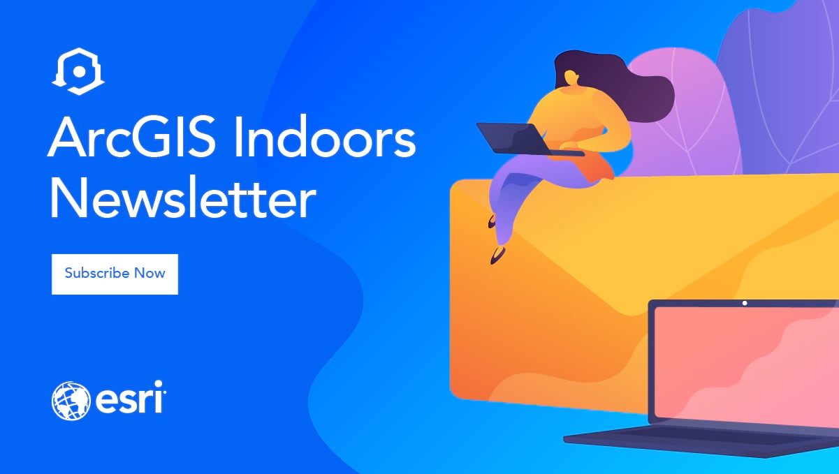 arcgis indoors newsletter signup