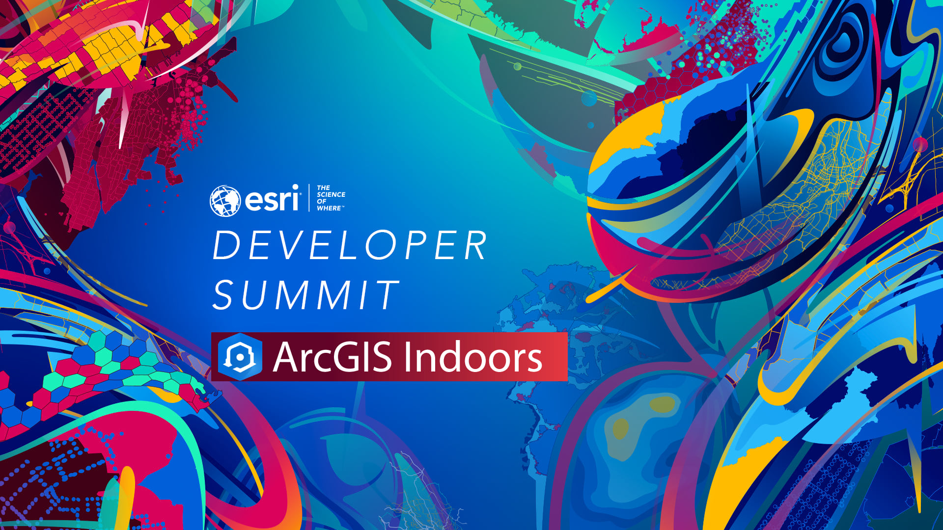 ArcGIS Indoors at 2021 DevSummit banner