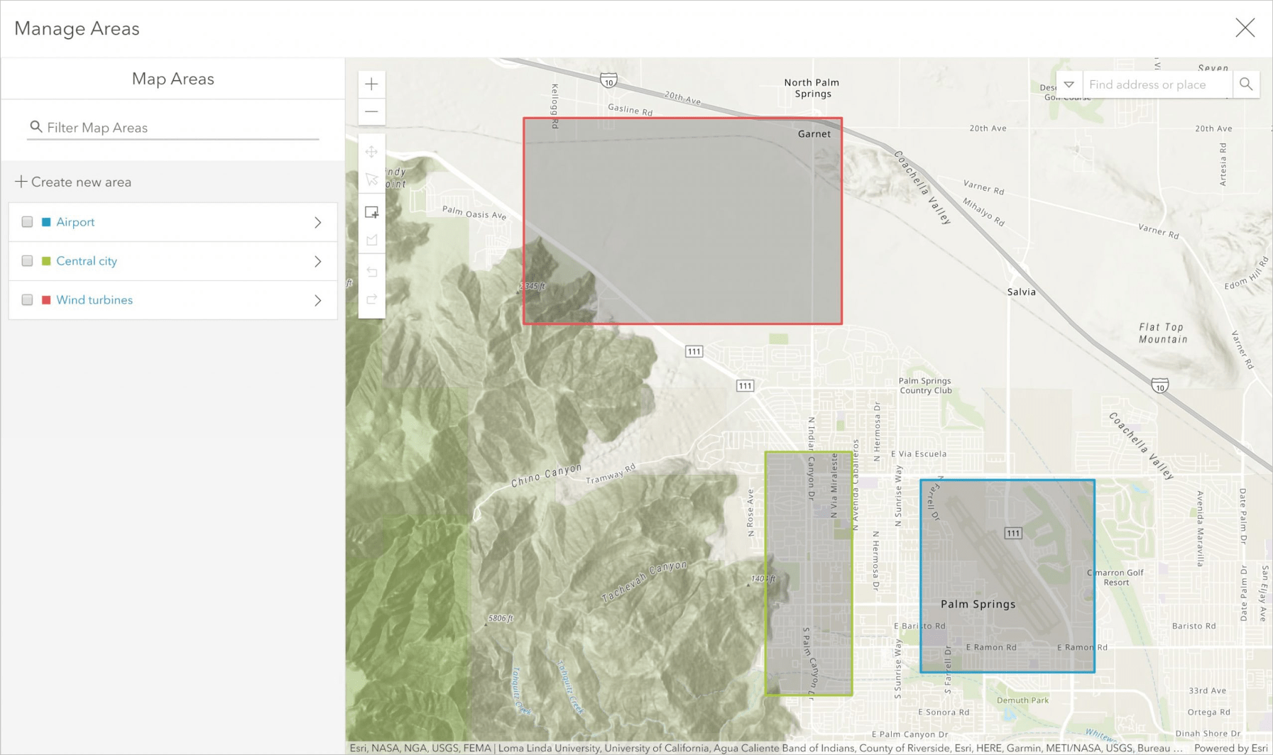 Create offline areas in ArcGIS