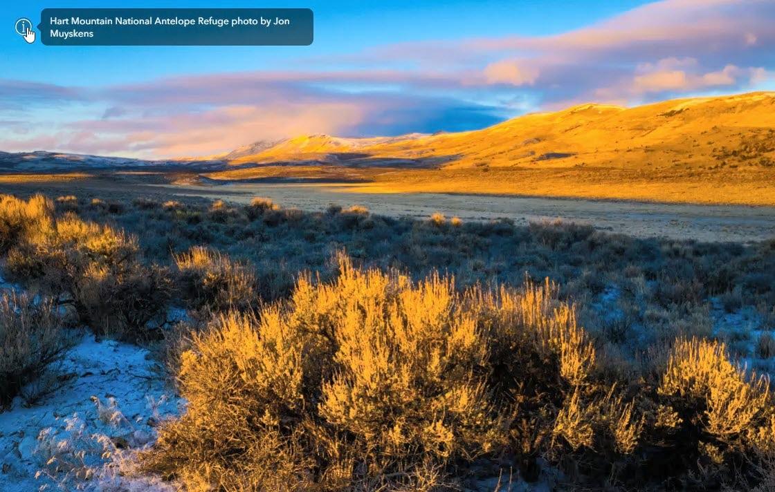 Hart Mountain National Antelope Refuge photo by Jon Muyskens