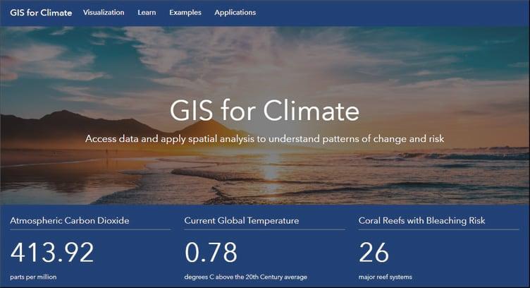 GIS for Climate Hub